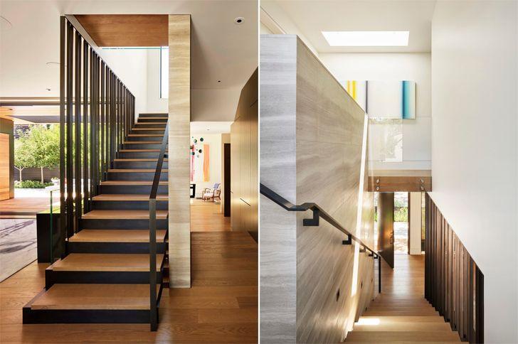 """""""staircase Palo Alto home Studio Vara indiaartndesign"""""""