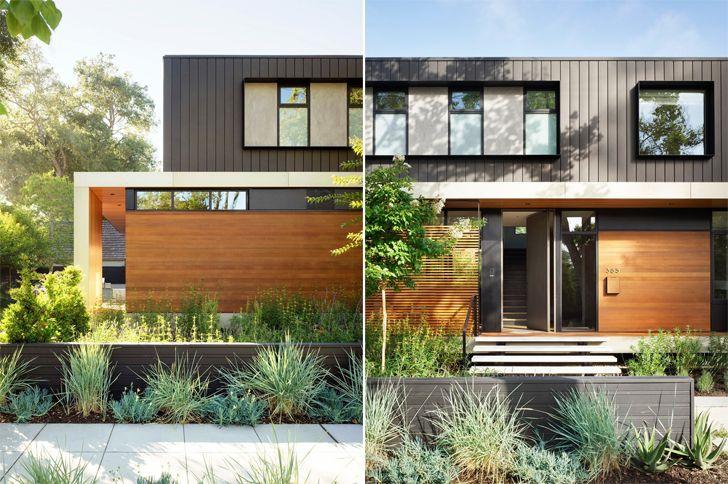 """""""stepped facade Palo Alto home Studio Vara indiaartndesign"""""""