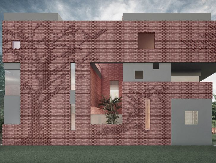 """Residence 91 Panchkula Charged Voids WAF 2019 indiaartndesign"""