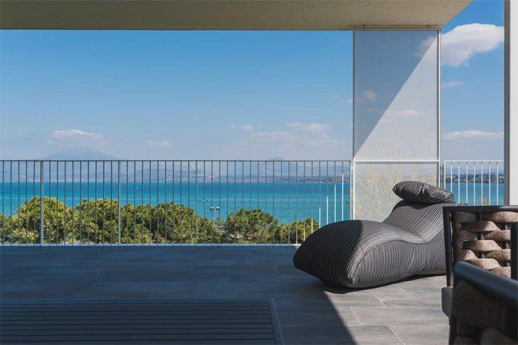 """view of lake garda vision hotel alberto apostoli indiaartndesign"""