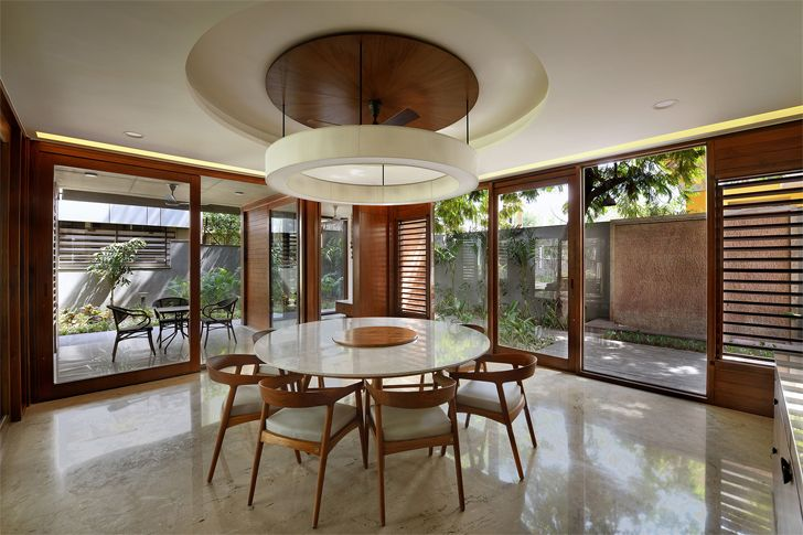 """dining ahmedabad home Modo Designs indiaartndesign"""