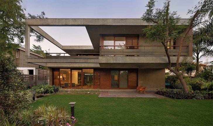 """front garden ahmedabad home Modo Designs indiaartndesign"""