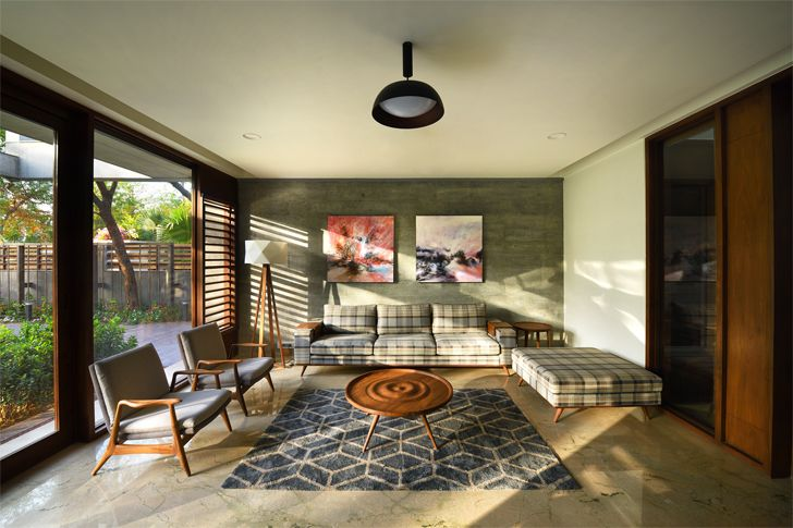 """lounge ahmedabad home Modo Designs indiaartndesign"""