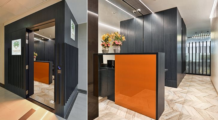 """al tamoor office navi mumbai rajesh patel architects indiaartndesign"""