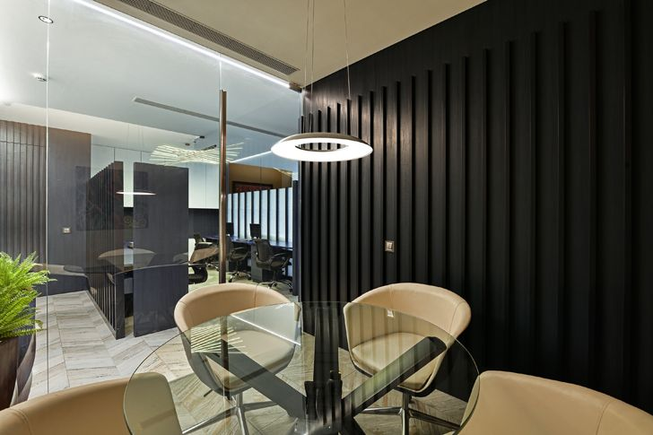 """informal meeting room1 al tamoor office navi mumbai rajesh patel architects indiaartndesign"""