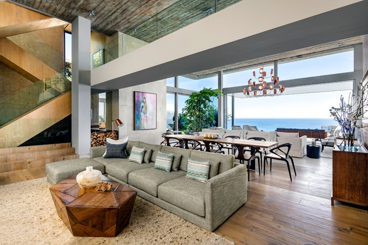 """living dining kloof 145 res SAOTA indiaartndesign"""