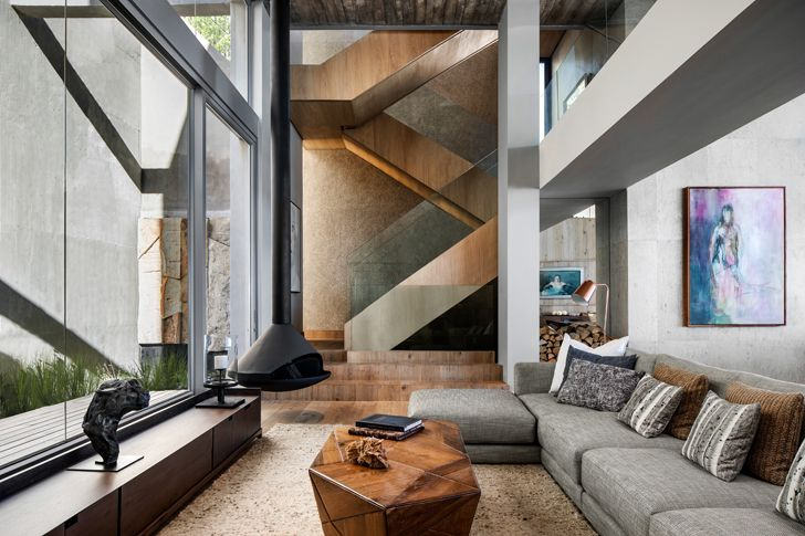 """staircase kloof 145 res SAOTA indiaartndesign"""