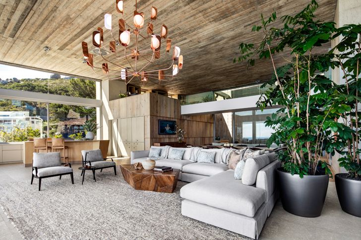 """wooden plank ceiling kloof 145 res SAOTA indiaartndesign"""