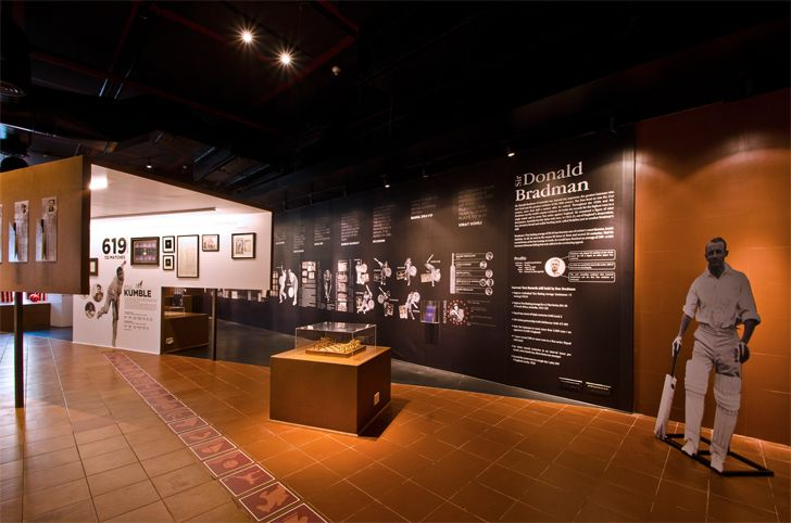 """display panels fanattic sports museum salient design studio indiaartndesign"""