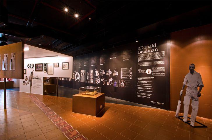 """display panels fanattic sports museum salient design studio indiaartndesign"""