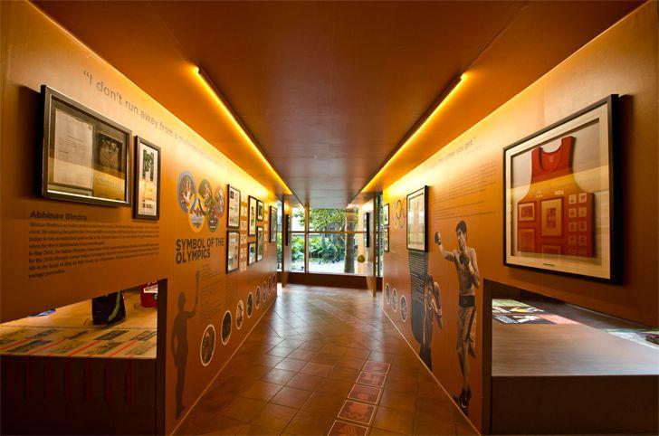 """gallery fanattic sports museum salient design studio indiaartndesign"""
