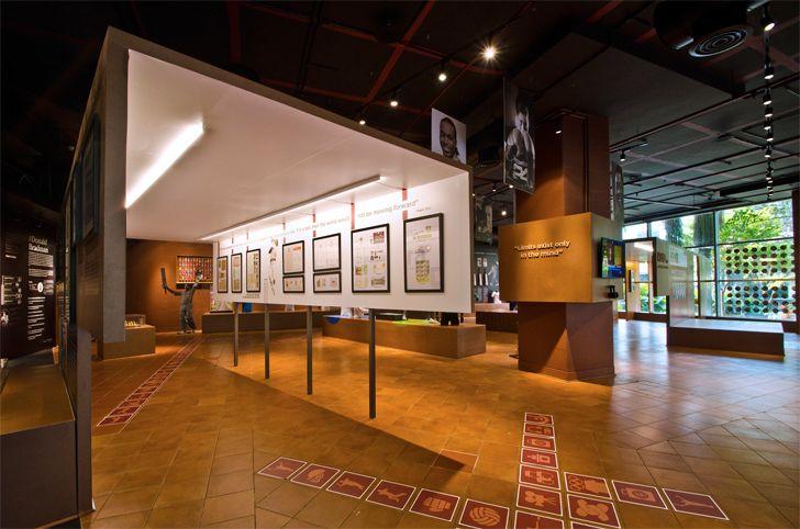 """open to the outdoors fanattic sports museum salient design studio indiaartndesign"""
