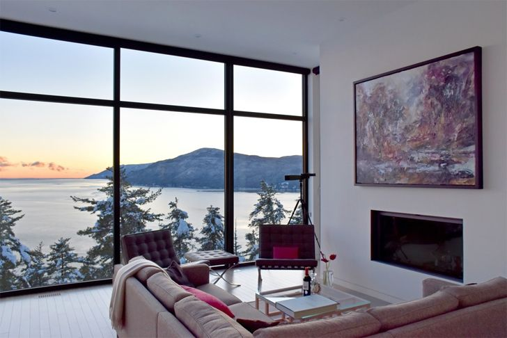 """breath taking views Home in the mountains Anne Carrier architecture indiaartndesign"""