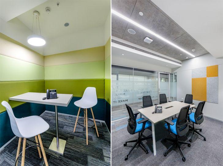 """meeting rooms Tata communications pune arvind vivek associates indiaartndesign"""