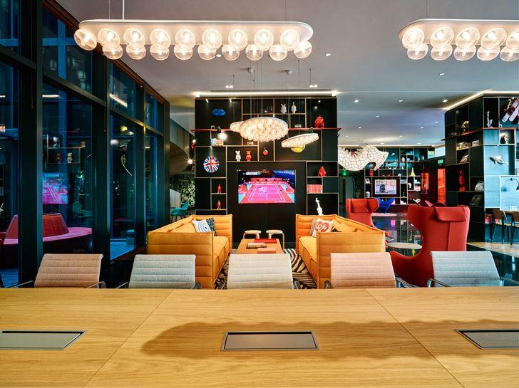 """""""living room CitizenM Shanghai Concrete indiaartndesign"""""""