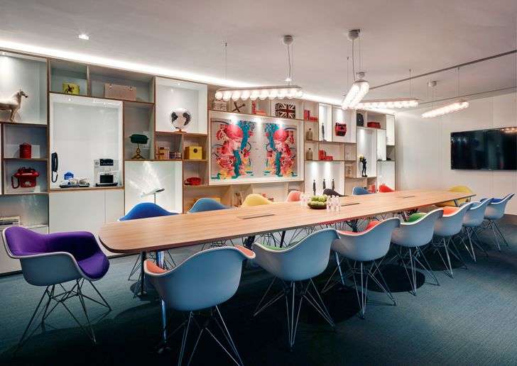 """societyM workplace CitizenM Shanghai Concrete indiaartndesign"""