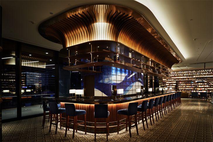 """bar and lounge YJY Maike Flagship Xian Tomoko Ikegai indiaartndesign"""