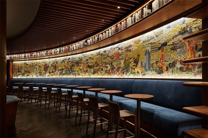 """cafe YJY Maike Flagship Xian Tomoko Ikegai indiaartndesign"""