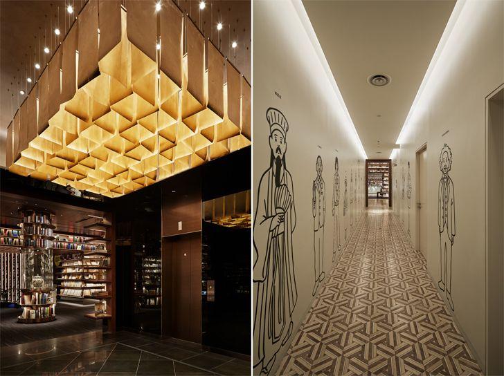 """gallery like corridor YJY Maike Flagship Xian Tomoko Ikegai indiaartndesign"""