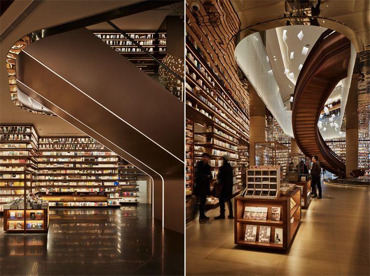 """spiral staircase YJY Maike Flagship Xian Tomoko Ikegai indiaartndesign"""