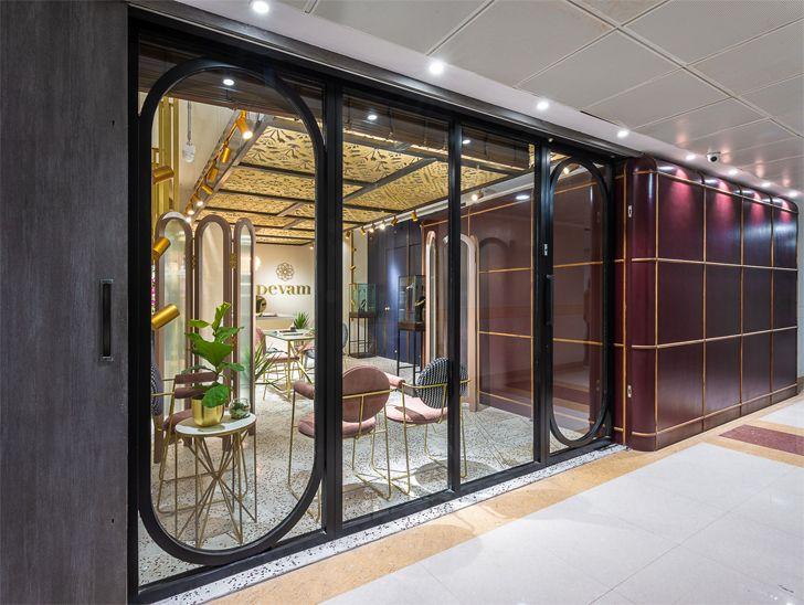 """facade mall Devam limited edition design studio indiaartndesign"""