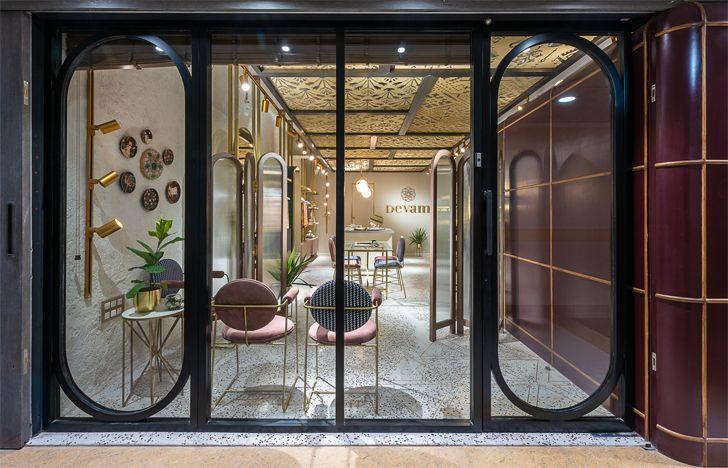 """glass facade Devam limited edition design studio indiaartndesign"""
