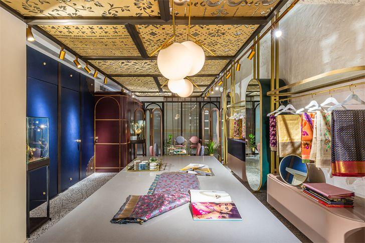 """textiles section Devam limited edition design studio indiaartndesign"""