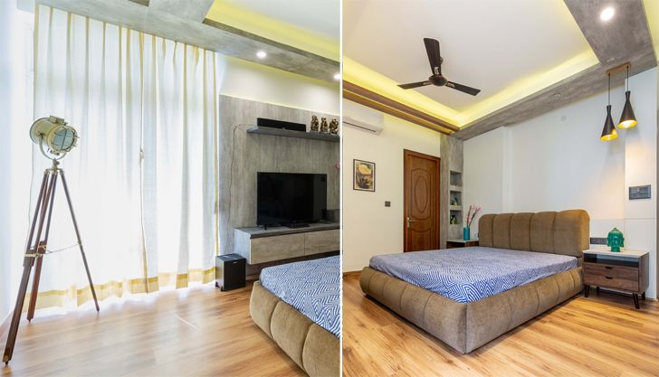 """bedroom2 noida residence mixed folios indiaartndesign"""
