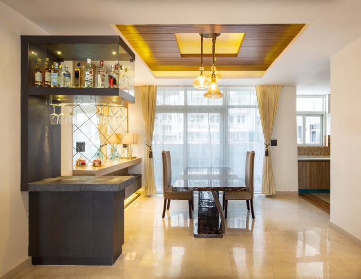 """dining noida residence mixed folios indiaartndesign"""