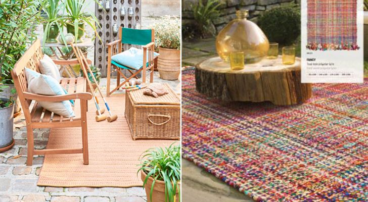 """Toulemonde Bochart Cordou outdoor rug indiaartndesign"""