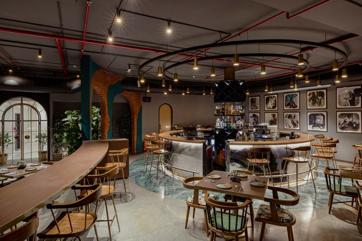 """bar esora restaurant saniya kantawala design indiaartndesign"""