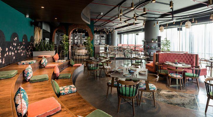 """esora restaurant saniya kantawala design indiaartndesign"""