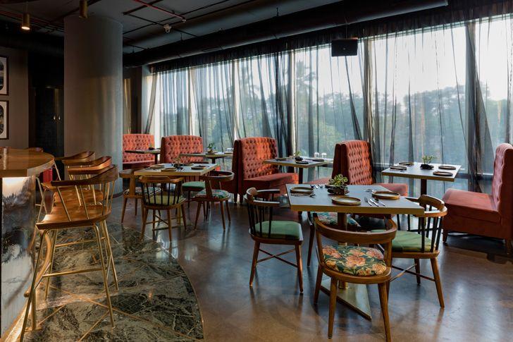 """fine dine esora restaurant saniya kantawala design indiaartndesign"""