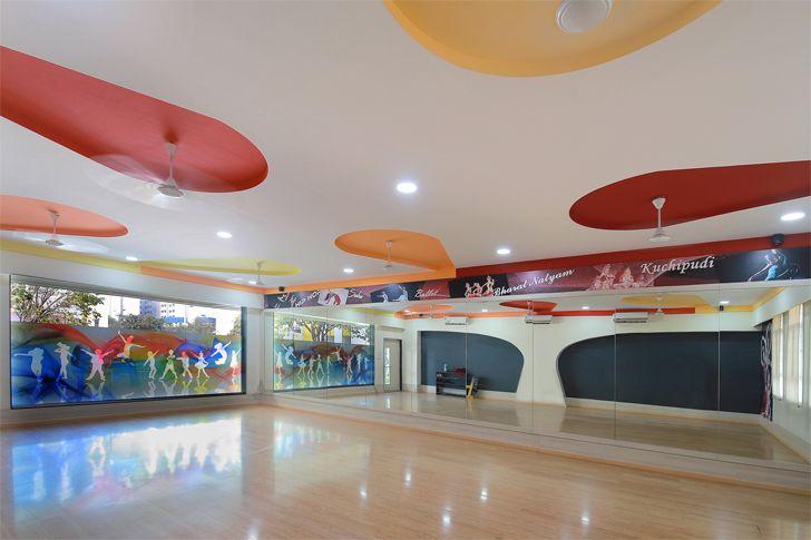 """VB Magarpatta Dance Room SPIRIT indiaartndesign"""