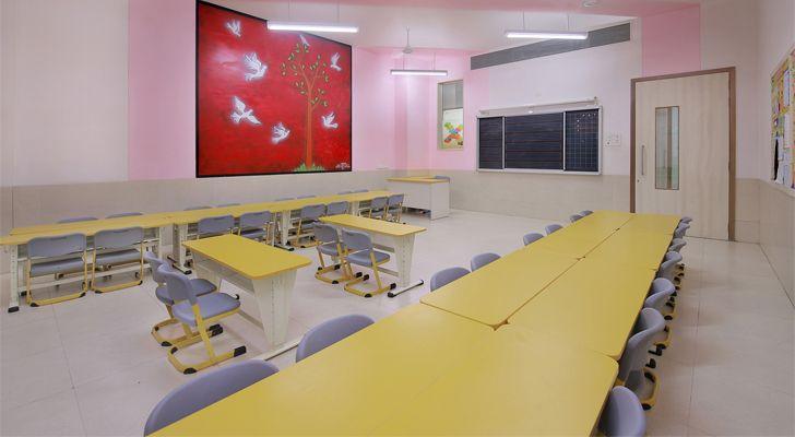 """""""VB Malad west classroom SPIRIT indiaartndesign"""""""