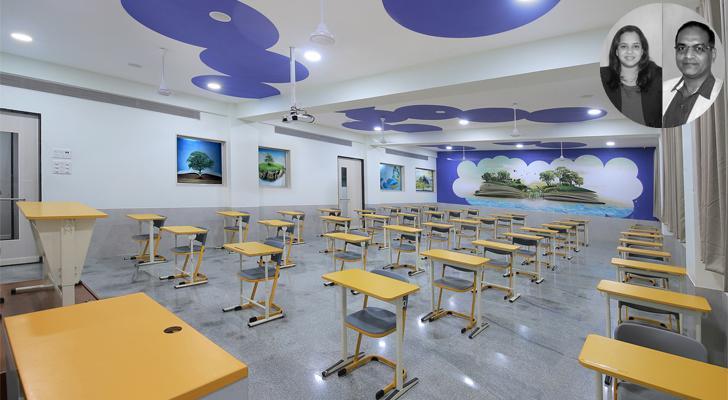 """VB NIBM classroom SPIRIT indiaartndesign"""