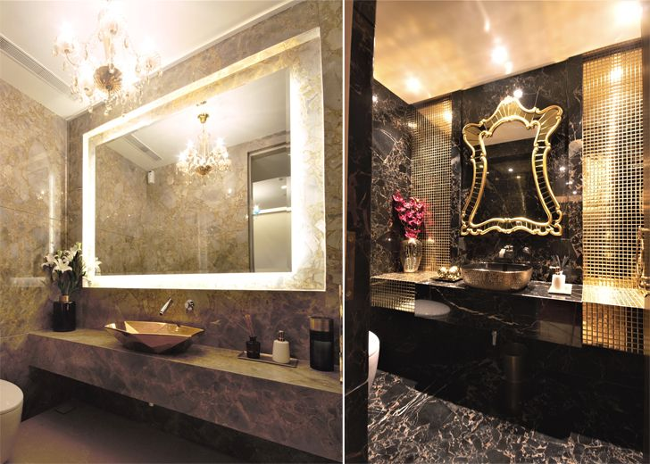 """plush washrooms 92 bellevue apts architect shahen mistry indiaartndesign"""