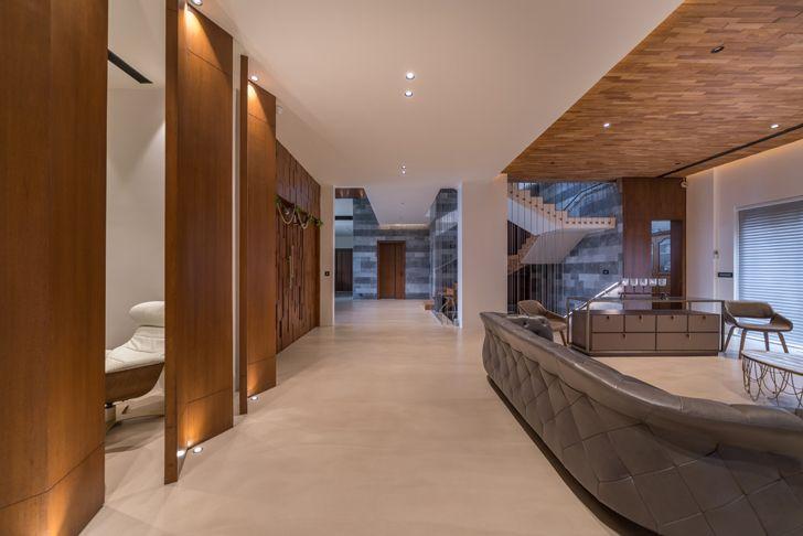 """spacious interiors hyderabad home urban zen design indiaartndesign"""