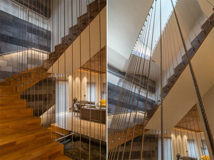 """staircase hyderabad home urban zen design indiaartndesign"""