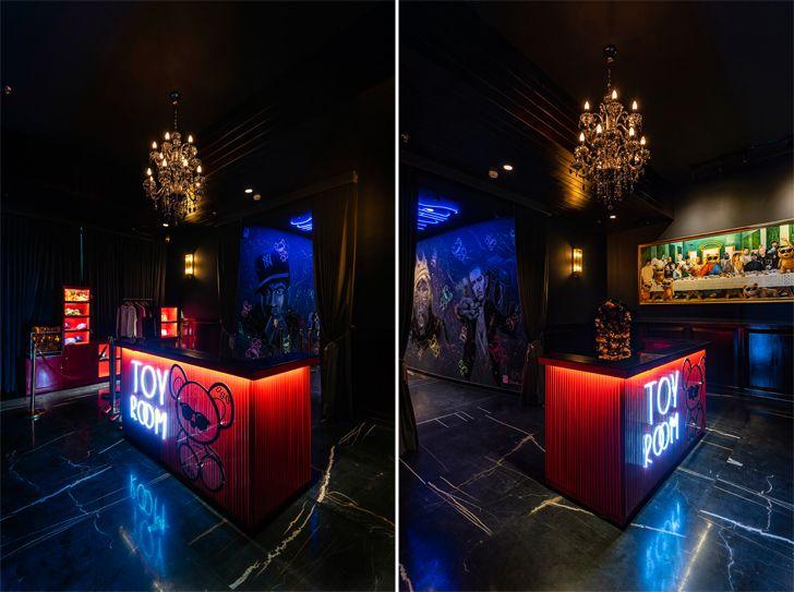 """reception toyroom chromed design studio indiaartndesign"""