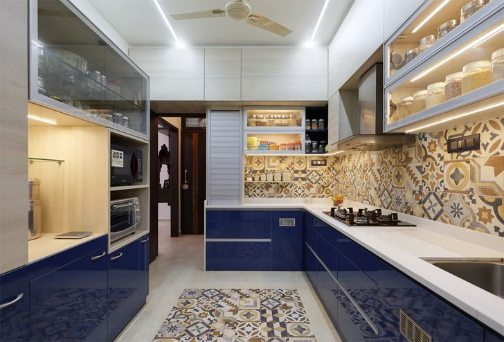 """kitchen pune residence cluster one creative solutions indiaartndesign"""