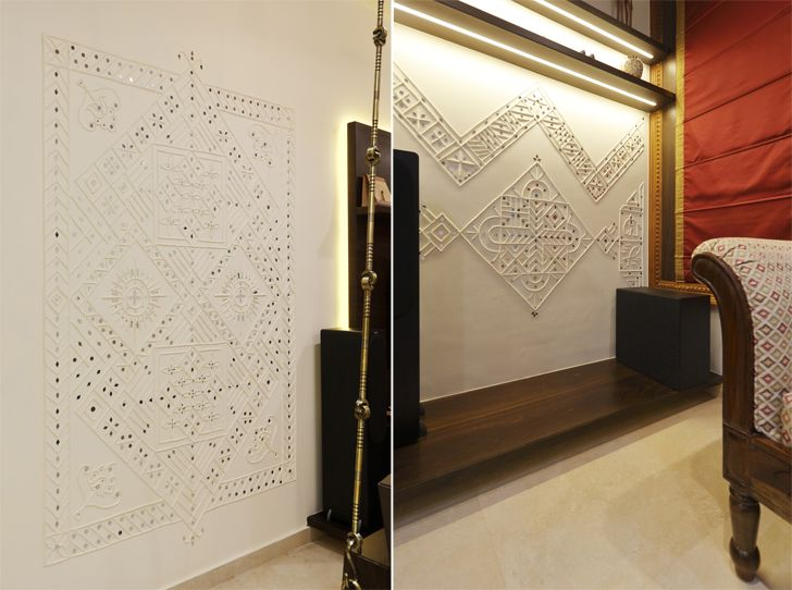 """leppan work pune residence cluster one creative solutions indiaartndesign"""