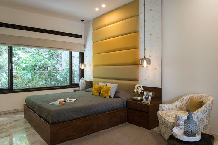 """guest room udaipur residence Design inc architects indiaartndesign"""