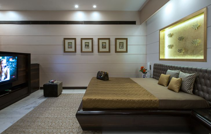 """master bedroom udaipur residence Design inc architects indiaartndesign"""