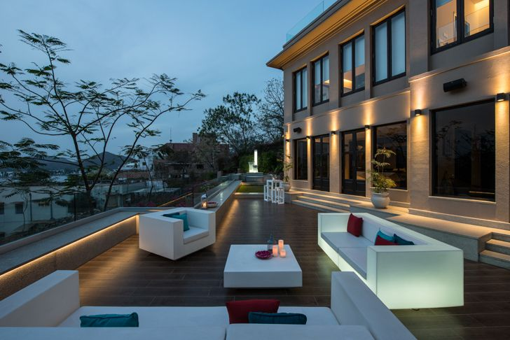 """terrace udaipur residence Design inc architects indiaartndesign"""