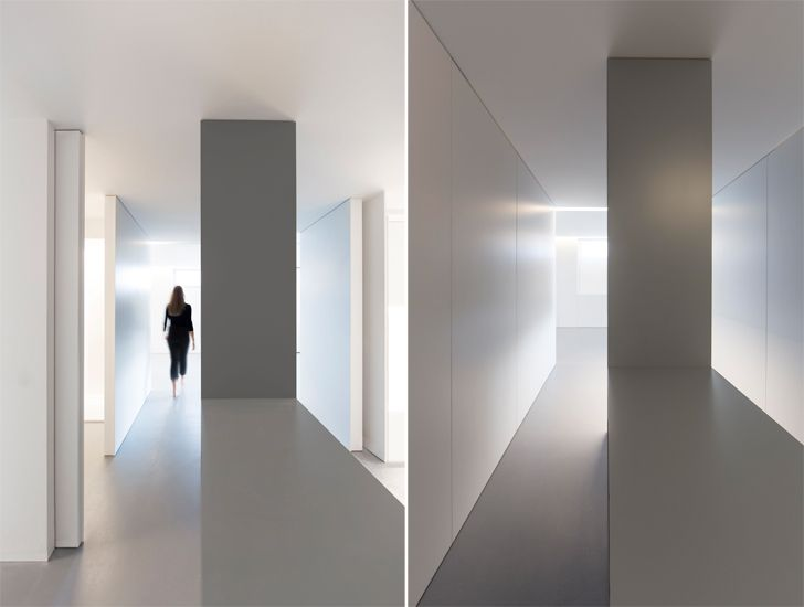"""corridor the fourth room fran silvestre arquitectos indiaartndesign"""
