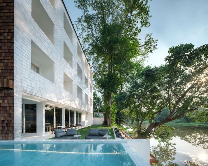 """pool area little shelter hotel Department of Architecture Co indiaartndesign"""