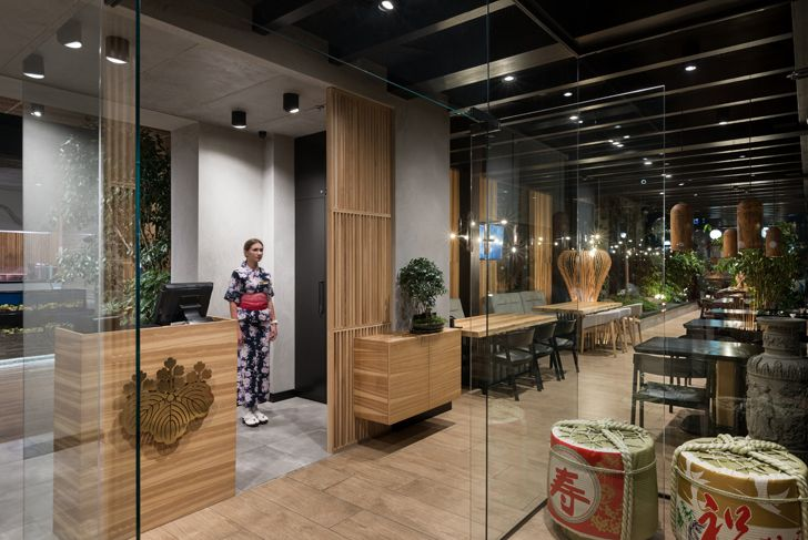 """entrance foyer Fujiwara Yoshi makhno architects indiaartndesign"""