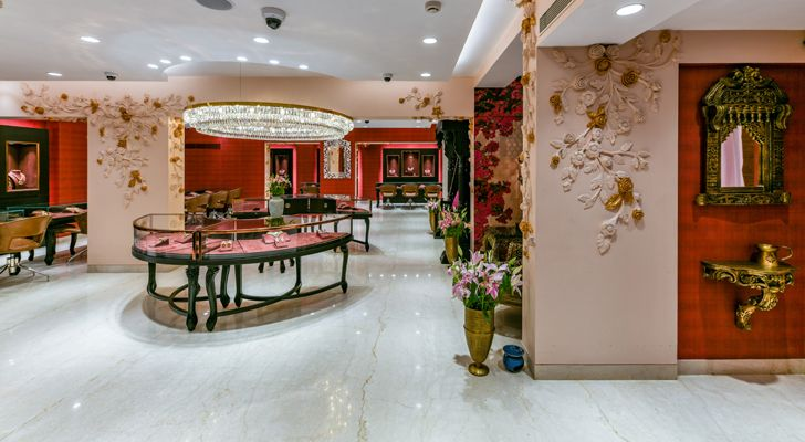 """overview manubhai jewellers borivali ornate projects indiaartndesign"""