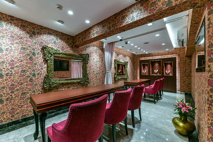 """private room manubhai jewellers borivali ornate projects indiaartndesign"""